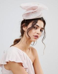 Светло-розовая шляпа с крупным бантом Vixen - Розовый