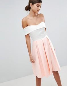 Приталенное платье 2 в 1 Vesper - Мульти