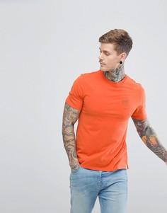Футболка с вышивкой Hymn - Оранжевый