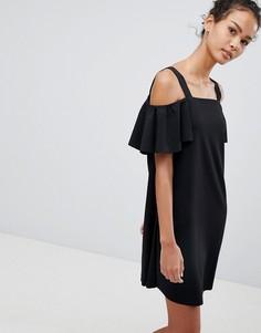 Платье с открытыми плечами JDY Bernadette - Черный