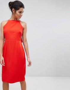 Платье на бретелях Adelyn Rae Anne - Оранжевый