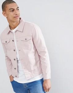 Джинсовая куртка Brave Soul Classic - Розовый