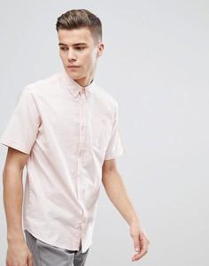Базовая оксфордская рубашка с короткими рукавами D-Struct - Розовый
