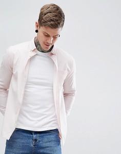 Меланжевая рубашка Hymn - Розовый