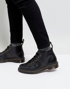 Черные ботинки Dr Martens Church Monkey - Черный