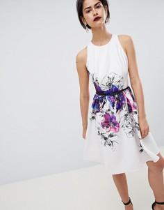 Платье для выпускного с цветочным принтом Little Mistress - Мульти