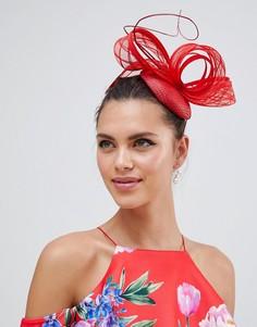 Красная шляпа с узорной отделкой Vixen Macaroon - Красный
