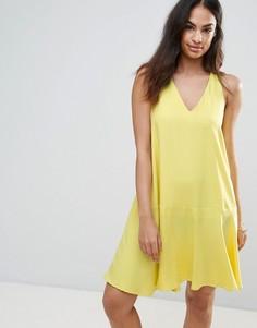Свободное платье FRNCH - Желтый