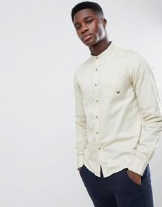 Кремовая рубашка с воротником-стойкой Gandys - Кремовый Gandys