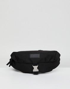 Черная сумка-кошелек на пояс Consigned - Черный