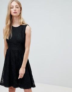 Кружевное платье без рукавов Only Armilla - Черный