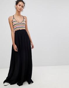 Платье макси Glamorous - Черный