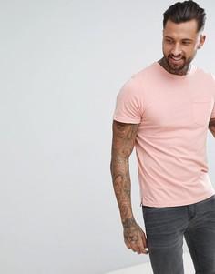 Oversize-футболка с карманом Another Influence - Розовый