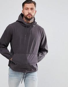 Выбеленная куртка без застежки Another Influence - Черный