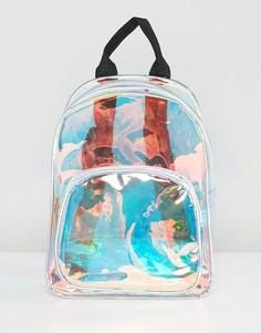 Рюкзак с переливающимся эффектом Yoki Fashion - Серебряный
