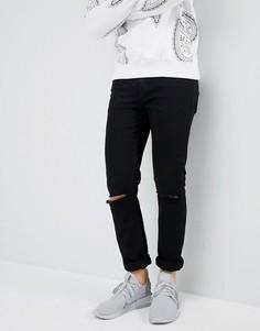Черные джинсы скинни Criminal Damage - Черный
