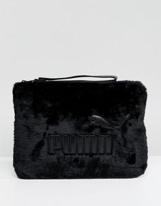 Меховая сумка Puma - Черный