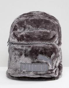 Меховый рюкзак Puma - Серый