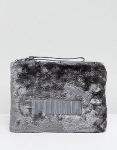 Меховая сумка Puma - Серый