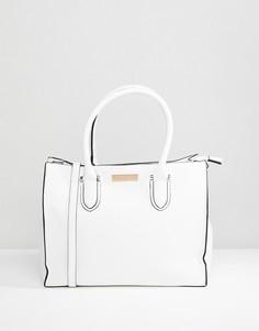 Структурированная сумка-тоут Carvela Robyn - Белый