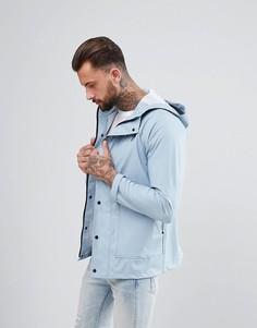 Фестивальная прорезиненная куртка Another Influence - Синий