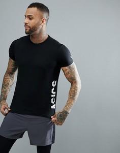 Черная спортивная футболка с логотипом Asics 155235-0904 - Черный