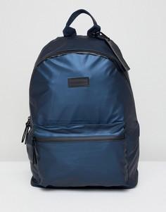 Черный рюкзак с карманами и водонепроницаемыми молниями Consigned - Черный