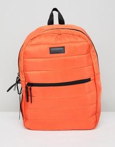 Оранжевый стеганый рюкзак Consigned - Оранжевый