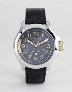 Черные часы Tommy Hilfiger - Черный