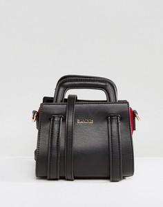 Структурированная сумка через плечо с ручками Silvian Heach - Черный