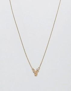 Ожерелье с подвеской-кактусом Nylon - Золотой