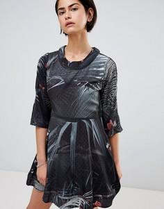 Чайное платье Religion Transit - Мульти
