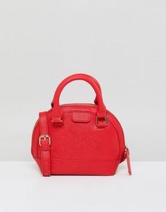 Красная сумка через плечо London Rebel - Красный