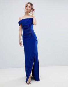 Трикотажное платье макси Coast Shay - Синий