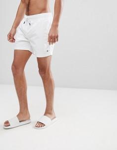 Белые шорты для плавания со шнурком и логотипом Tommy Hilfiger - Белый