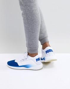Сине-белые кроссовки Puma Tsugi Shinsei - Синий