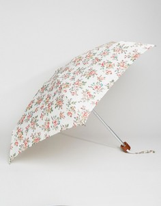 Зонт цвета слоновой кости с розами Cath Kidston Tiny 2 Kingswood - Мульти