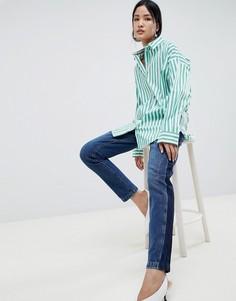 Рубашка в полоску Gestuz Wray - Зеленый