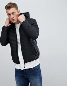 Дутая куртка Dissident - Черный