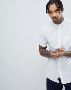 Рубашка с короткими рукавами и воротом на пуговице Tokyo Laundry - Темно-синий