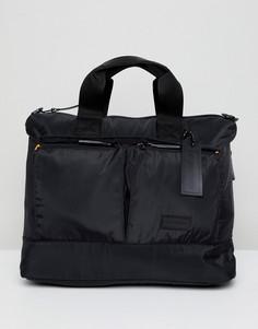 Черная сумка для ноутбука Consigned - Черный