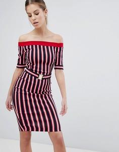 Платье в полоску Vesper - Мульти