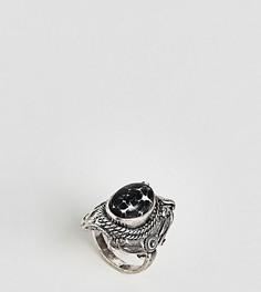 Фестивальное кольцо с большим камнем ASOS DESIGN Curve - Серебряный