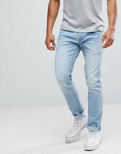 Узкие голубые джинсы Solid - Синий