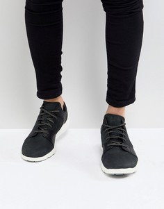 Черные замшевые кроссовки Timberland Flyroam - Черный