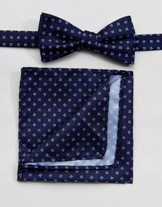 Галстук-бабочка и платок для пиджака Selected Homme - Мульти