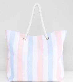 Пляжная сумка в полоску South Beach - Мульти
