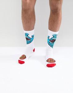 Белые носки Santa Cruz - Белый