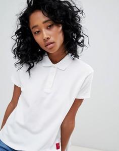 Футболка-поло Calvin Klein Jeans - Белый