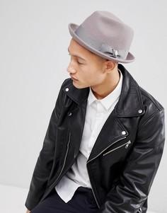 Мягкая фетровая шляпа Goorin Good Boy - Серый